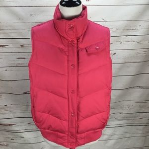 GAP Puffer Vest Hot Pink Size Large